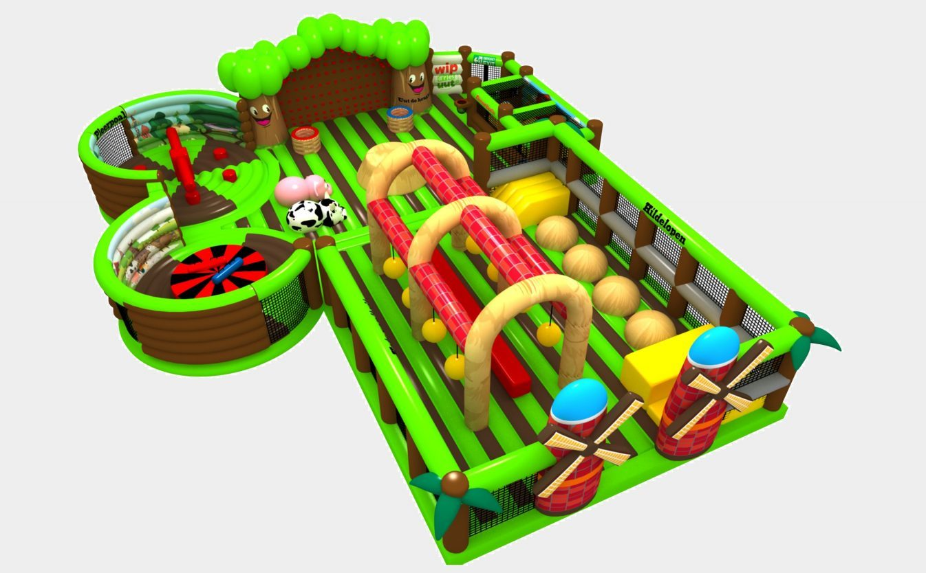 Inflatable Park design farm